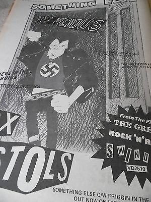 """Sex Pistols """"the Great Rock N Roll Swindle"""" 1978 Something Else By Sid Vicious"""