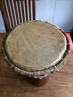 Hand Carved African Djembe Drum