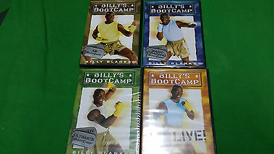 4 DVD Entrenamiento Fisico Billy´s Bootcamp