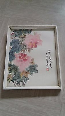 vintage chinese print picture
