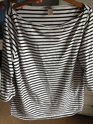 H and M Maternity Top XL