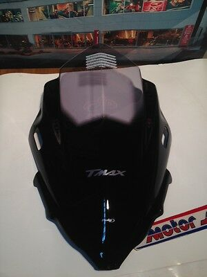 Parabrezza Windshield Windscreen Puig 5031H V-Techline Yamaha Tmax500 2008/2011