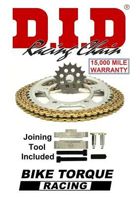 Suzuki GSF1250N/S K7-L5 Inc ABS 07-15 DID Extreme Chain And Sprocket Kit + Tool
