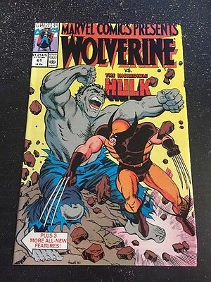 Marvel Comics Presents#61 Incredible Condition 9.0(1990) Hulk App, Howell Cover!