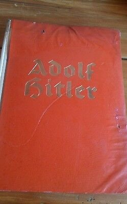 Adolf Hitler German-language Book from 1930s