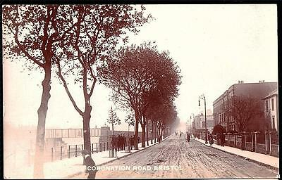 Bristol Cornation Road  Photo Postcard.1908