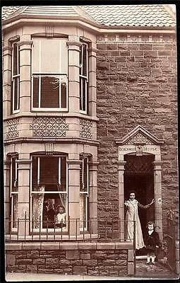 Bristol Horfield Address Beachwood House.   Photo Postcard.p.used 1907