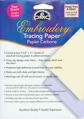 """Embroidery Tracing Paper 8.5""""X11"""" 4/Pkg U1541"""