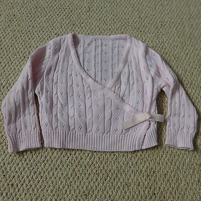 Baby girls cardigan top from M&S age 3-6 months