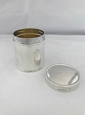 Silver Tea Caddy Or Canister 1933 Sheffield MAPPIN & WEBB