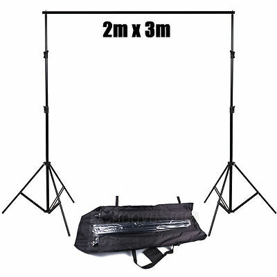Photo Studio Heavy Duty Background Lighting Stand Backdrop Support Tripod Stands