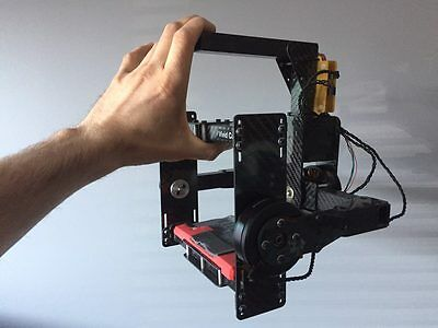 DSLR Camera GIMBAL from drone. Steadycam, Stabilizer for Canon, Sony, Panasonic