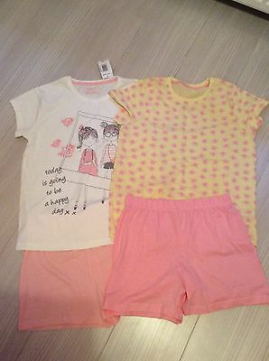 Girls summer pyjamas new without tags age 12-13
