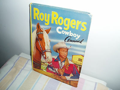 Roy Rogers Cowboy annual/book 50/60s