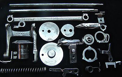 Vintage Sewing Machine Parts  Singer   Springs Rods Washers And Many Other Parts