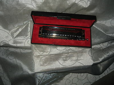 The Larry Adler Professional 16 Chromatic Harmonica by M Hohner in Key of C