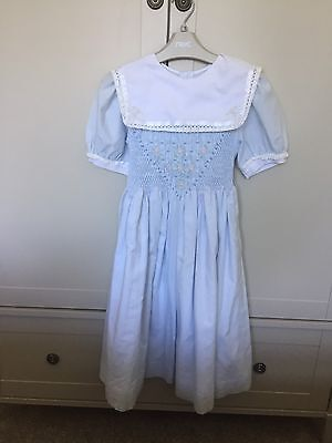 Vintage Girls Dress M & S . Classic Princess Charlotte Style
