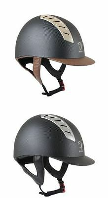 NEW Horka Arrow Carbon Horse Riding Safety Hat Helmet, Showing, Jumping