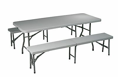 Folding Picnic Table and Bench Office Star FREE SHIPPING (BRAND NEW)