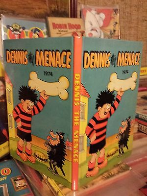 Beano/Dennis The Menace Annual 1974 New and Mint / Ultra Rare in this condition