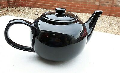 Classic Brown Betty Style Large Teapot
