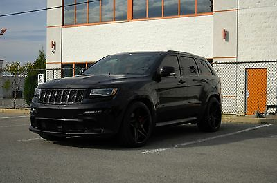 2014 Jeep Grand Cherokee SRT 2014 Jeep Grand Cherokee SRT - blacked out