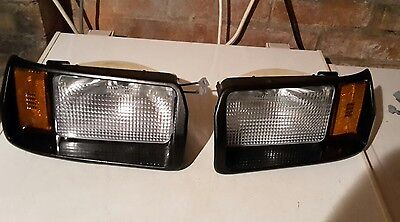 Golf Cart Car Headlights - Left & Right