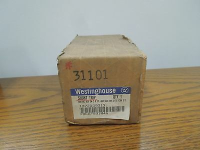 Westinghouse Shunt Trip 1372D39G13 32-120V AC/DC for NC/HNC Frame Breakers New