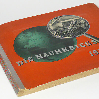 Cigarette Card Album 'The Time After The War 1918-1934' From Versaille to Hitler