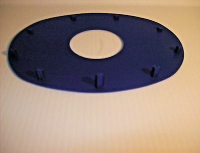 Mining Face Pad Blue Oval Shapped PV 2582-9 M573001 25 Pieces