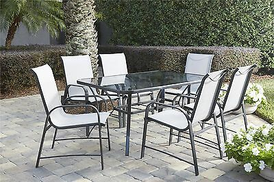 Bellbrook 7 Piece Patio Dining Set Red Barrel Studio FREE SHIPPING (BRAND NEW)