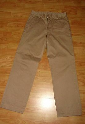 MENS SAND BEIGE COTTON **GANT** summer casual Trousers SIZE 32'' X 30''
