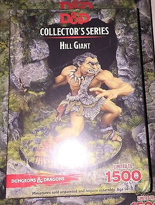 D&D collector's series HILL GIANT miniature NEW dungeons dragons