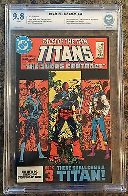 TALES OF THE TEEN TITANS #44 CBCS 9.8  1st appearance Nightwing  CANADA SELLER
