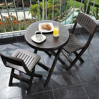 Outdoor 3 Piece Bistro Set RIMAX FREE SHIPPING (BRAND NEW)