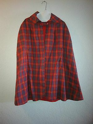 Vintage 1960's Hand Made Girl's Cape