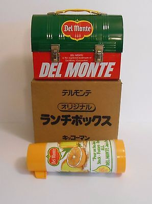 1983 Rare Del Monte Promo Japan Lunchbox w/Rare Thermos Mint Unused Wow !!!