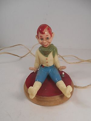 Vintage 1950's Howdy Doody electric night light, Works