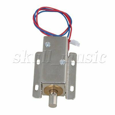 File Door Cabinet Latch Assembly Solenoid Electric Round Bolt Lock DC12V