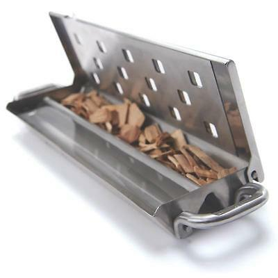 SS SMOKER BOX WITH SLIDER LID Onward Mfg Co Grill Accessories - Generic 60190