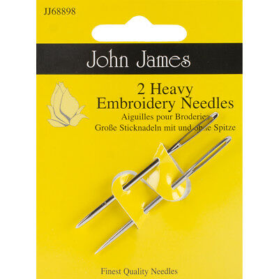 Heavy Embroidery Hand Needles Size 14 2/Pkg JJ68898