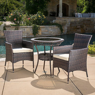 Spooner 3 Piece Dining Set with Cushions Brayden Studio FREE SHIPPING
