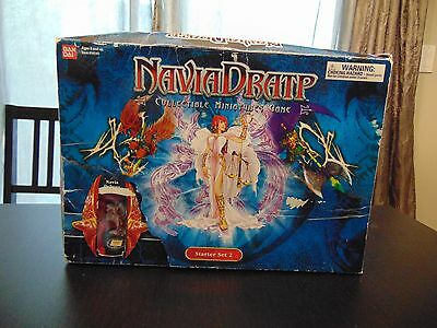 Navia Dratp Starter Set 2 Minatures Game 100% Complete/New -  Box Poor Condition