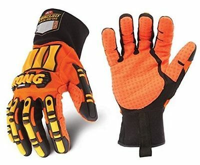 NEW WITH TAGS IRONCLAD ORIGINAL KONG IMPACT PROTECTIVE SAFETY WORK GLOVES Sz XXL