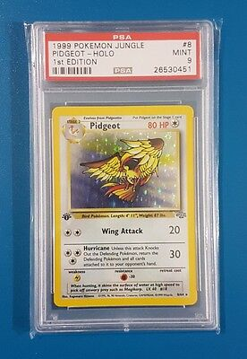 Pokemon - PSA 9 - Pidgeot - Holo - 1st Edition - Jungle - 8/64