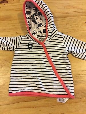 Baby Girls Cotton On Jacket With Hood 000