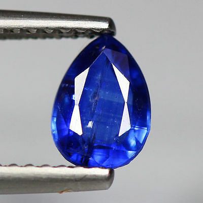 """1.10 Cts_Simmering Ultra Nice Color_100 % Natural Royal Blue Kyanite""""un-Heated"""