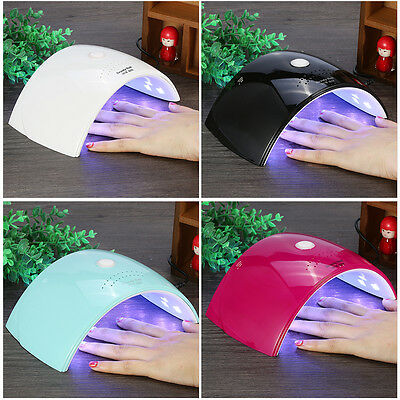 36W SUN LED Nail lamp UV Nail Dryer 18 LEDs Curing Gels Polish Dryer Manicure WD