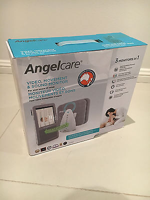 AngelCare Baby Video Monitor Sound & Movement AC1100 2 sensor pads