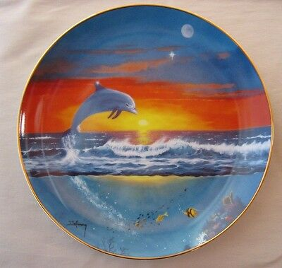 Franklin Mint Collector Plate - Spring  Of The Dolphin